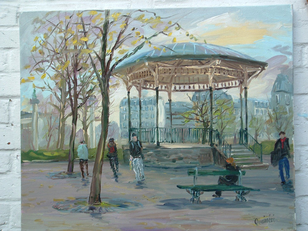 Kiosque place de la Nation (73×60cm)